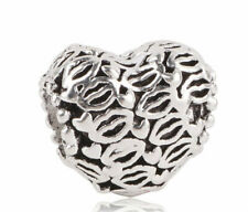 Silver European Charms for Charm Bracelet New In pouch NEW 0011
