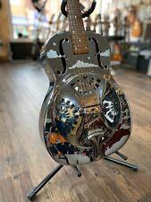 More details for 1988 dobro dm33h 'hawaiian' metal resonator guitar