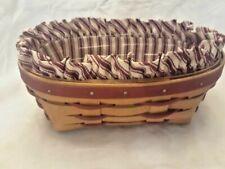 Longaberger Sweetheart Be Mine Basket Combo Vintage Collectible 1994