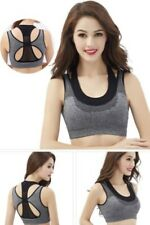 Thin section Seamless Crop Athletic Sport Yoga Fitness Bra Top Zip Front  2023