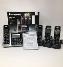 Panasonic KX-TG7875 Link2Cell Bluetooth Cordless Phone Answering Sys 4 Handsets