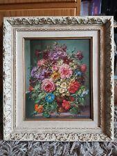 Antique Vintage Original Framed Oil Painting Signed a conway