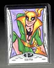 2014 Marvel Premier Iron Fist sketch card