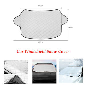 1×Car PVC Windshield Cover Sun Shade Protector Winter Snow Rain Dust Frost Guard