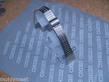 SEIKO 17mm BRUSHED STAINLESS STEEL 2 PIECE WATCH STRAP BRACELET C052