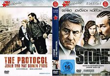 DVD mit 2 Filmen - Stone + The Protocol - Robert De Niro, Edward Norton