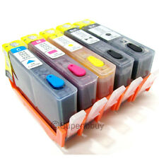 Non-OEM Refillable Ink Cartridge for HP 564/564XL PhotoSmart D5460 C6340 C6350