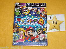 MARIO PARTY 4   Nintendo GAME CUBE Version JAPAN NEW FACTORY SEALED