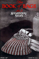 Heminway Bead Bags #3 c.1926 Vintage Knitting Patterns for Bead Purses & Bags