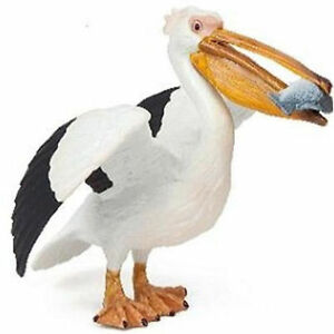 PELICAN Holding Fish Replica # 56009 ~ FREE SHIP/USA with $25+ Papo Products