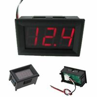 gauge Tester digital Prueba de voltaje del coche Mini voltimetro LED display