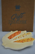Vintage Avon Gift Collection Fall Theme Corn Trivet Hot Plate With Box (Ee)