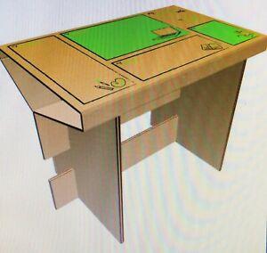 My Little Desk - Children Home Schooling Cardboard Desk