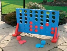 Large Giant 4 In A Row Garden Connect 4 Four Game Kids Outdoor Family Set