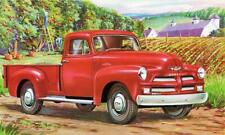 Print. Red 1954 Chevrolet Pickup Truck Ad