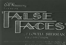 FALSE FACES (1932) DVD LOWELL SHERMAN, PEGGY SHANNON