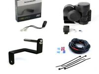 BMW R1200GS LC 2013 to 2018 Denali Complete Sound Bomb (120dB) Horn Kit