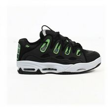 Osiris scarpe uomo D3 2001 Black/white/green rave techno party dj shoes