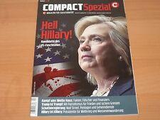 "COMPACT Spezial Magazin für Souveränität ""Heil Hillary!"" Ausgabe 11/2016 1A!"