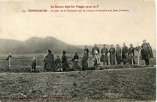 CARTE POSTALE / NOMPATELIZE - Le Jour de la Toussaint sur le Champ de Bataille .