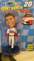 Denny Hamlin 2007 #20 BOBBLEHEAD RACER Collectors Edition Numbered on Back NEW