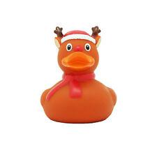 Weihnachtselch Ente Quietscheente Gummiente Badeente Ente Spielzeug