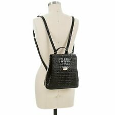 Authentic Brahmin Leather Margo Black Melbourne Backpack
