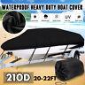 14-16ft Heavy Duty Trailerable Boat Cover V-Hull Speedboat Waterproof