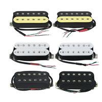 FLEOR Alnico 5 Guitar Humbucker Pickup Set Electric Guitar Neck or Bridge Pickup