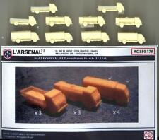 L'Arsenal Models 1/350 MATFORD F-917 MEDIUM TRUCK SET (10) Resin Set