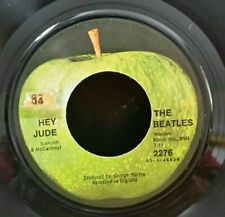 Beatles Apple 2276 HEY JUDE (GREAT ROCK N ROLL 45) PLAYS VG+
