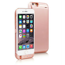 10000mAh Power Case Rechargeable Protective Battery iPhone 6s Plus 6+ Rose Gold