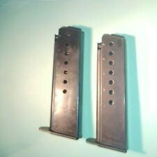 Vintage Walther P38 9mm 8rd Walther Banner Magazines -- 70's date codes