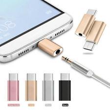 USB-C Type C Port to 3.5MM Aux Audio Jack Headphone Passive Adapter Metal