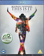 This Is It - Michael Jackson New & Sealed UK Region Free Blu-ray