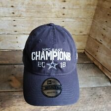 Dallas Cowboys Ball Cap 2018 NFC East Champions New Era NFL Team Strapback Hat