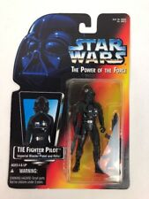 Star Wars Tie Fighter Pilot Power of the Force Action Figure (Kenner/1995) FS