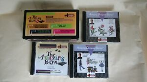 The Amazing Box II Embroidery Designs Card Converter USB Connection with 3 cards