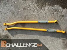 """Heavy Duty front and Rear Panhard Rods Yellow 3"""" Lift to fit Suzuki Jimny pair"""