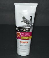 NUTRI-VET PET-EASE PAW-GEL FOR CATS, SALMON FLAVOR GEL (3.0 OZ) FOR CATS
