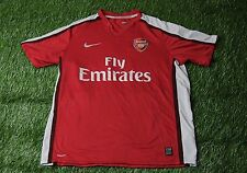 ARSENAL LONDON ENGLAND 2008-2010 FOOTBALL SHIRT JERSEY HOME NIKE ORIGINAL SIZE L