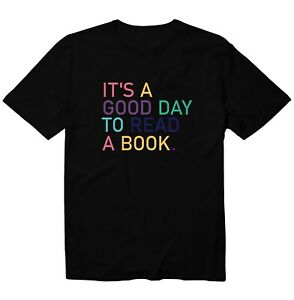 It's A Good Day To Read A Book Funny Unisex Kid Girl Boy Youth Graphic T-Shirt