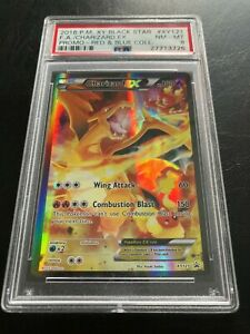 CHARIZARD EX FULL ART XY121 PROMO PSA 8 NM-MT CONDITION POKEMON CARD (J11)