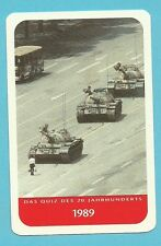 Tiananmen Square Massacre of 1989 Beijing Cool Collector Card Europe