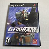 Mobile Suit Gundam: Journey to Jaburo (Sony Playstation 2, 2001) PS2 COMPLETE