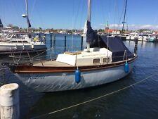 Segelboot, Segelyacht, Küstenkreuzer, GFK mit Teakdeck