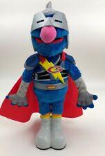 Sesame Street Talking Super Grover Plush Toy Hasbro 39995 (2011)