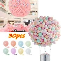 "30pcs 5""/10""Macaron Latex Balloons Baby Shower Birthday Wedding Party Decoration"