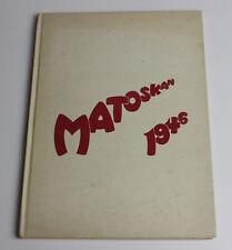1946 White Bear Lake High School Matoskan Yearbook Minnesota MN