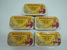 (5x) can Portuguese Sardines in Olive Oil with Curry - 120g - MINERVA Gourmet